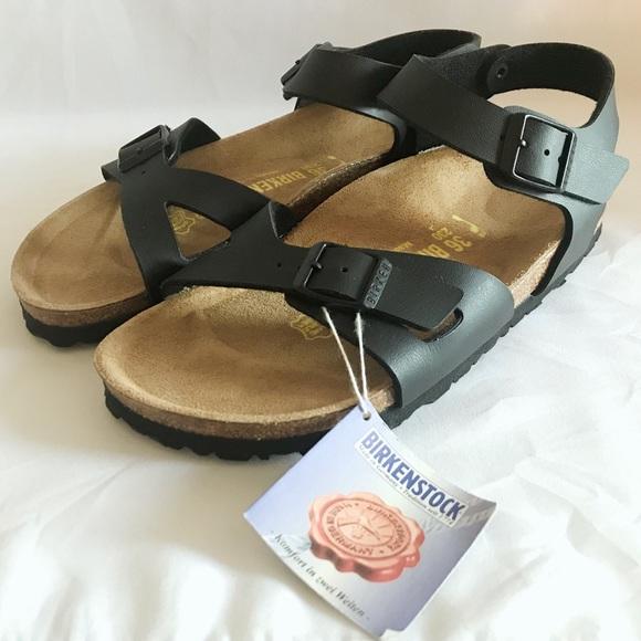 8478743232e3 Birkenstock Shoes | Nwob Display Rio Birkoflor Black 36eu | Poshmark